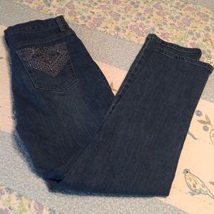 Bling blue jeans ✨